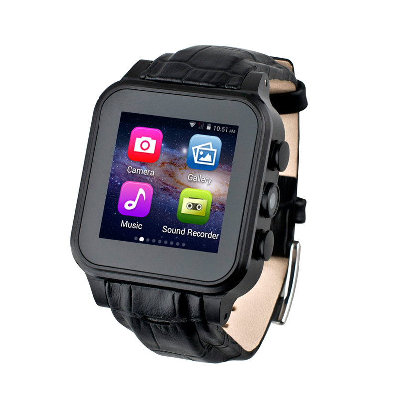 ITUF New Android 4.4.2 Bluetooth Smart Watch WIFI Fashion Wristwatch Waterproof Camera GPS Compass 3G GSM Smartwatch Wearable new arrival pw308 update version smartwatch androidwatch with 3g sim compass gps watch wearable devices smart electronic