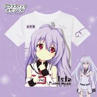 Plastic Memories T Shirt Cosplay Costumes Tshirt Japanese Anime COS T Shirt Summer Tops Tees Camisetas