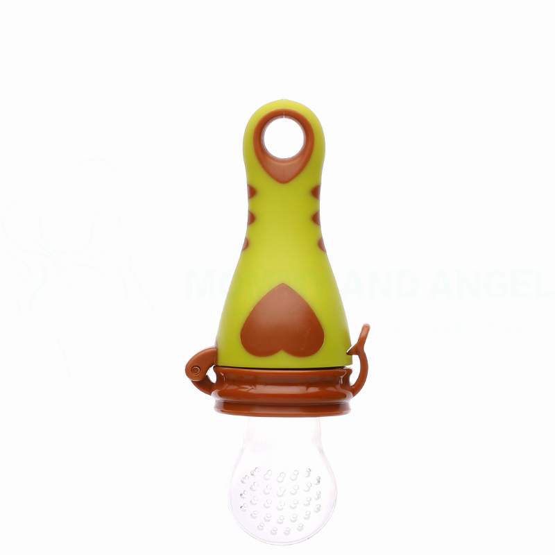Baby Pacifiers Silcone Feeding Bottles Fresh Food Feeder Feeding Nipple Dummy Fruits (Size:S-M-L,4 Colour,PA-009) FREE SHIPPING