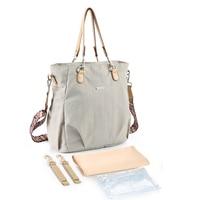 Fashion Diaper Bag for Mom Waterproof Baby Bag Large Capacity Multifunction Baby Care Bag for Stroller Bolsa Maternidade 6 Color