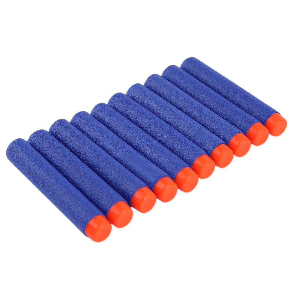 TOMLOV 200PCS Soft Gun Air Gun Bullets Darts EVA Solid Bullet Darts For NERF N-Strike Series