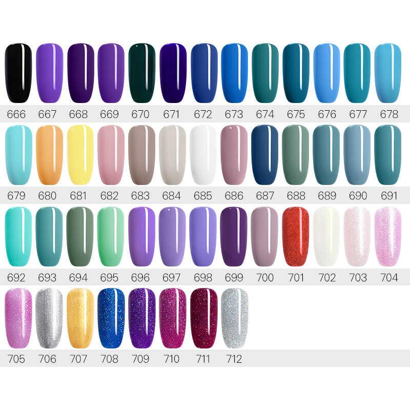 UR GULA 16 pcs/lot Gel Nail Polish Set Nail Art Set Untuk Gel Varnish 120 Warna Untuk Kuku Seni Manikur set Kuku Kit Untuk Kuku Seni