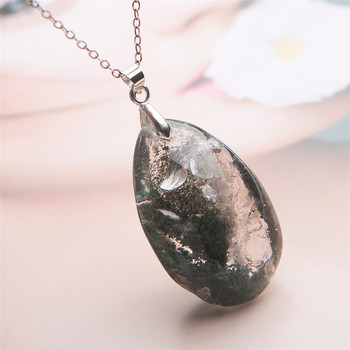 Phantom Quartz Healing Crystal Necklace1