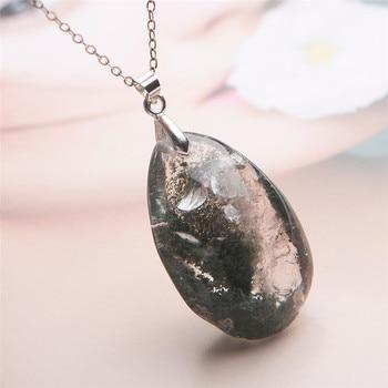 Phantom Quartz Healing Crystal Necklace1