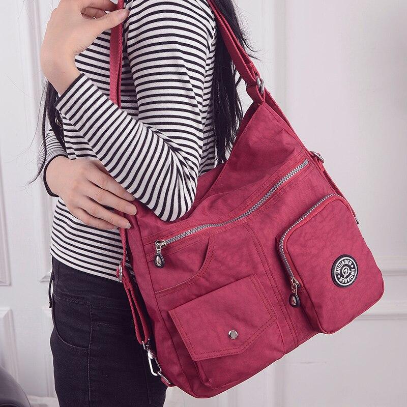 sacolas crossbody para mulheres bolsa Material : Nylon