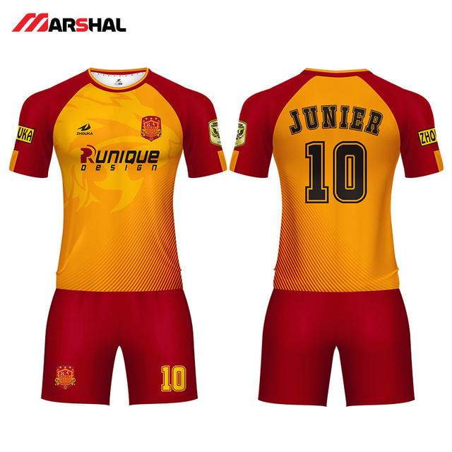 99d89ed1f90 professional custom soccer uniforms team football jersey maker design any  logo numbers on line design football shirt for men