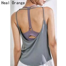 2019 Fitness Women Breathable Yoga Top Gym Workout Tank Top Sexy Backless Sport T Shirt Women Running Shirt Sport Crop Top недорого