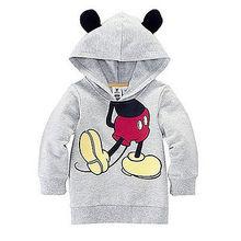 NEW Style Baby Girls Boys Kid Cartoon Design Hoodies Sweatshirt Clothes
