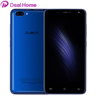 Case)gift!Cubot Rainbow 2 Dual Back Camera Mobile Phone MTK6580A Quad Core 5.5 Inch HD Smartphone Android 7.0 1G+16G Cell Phone
