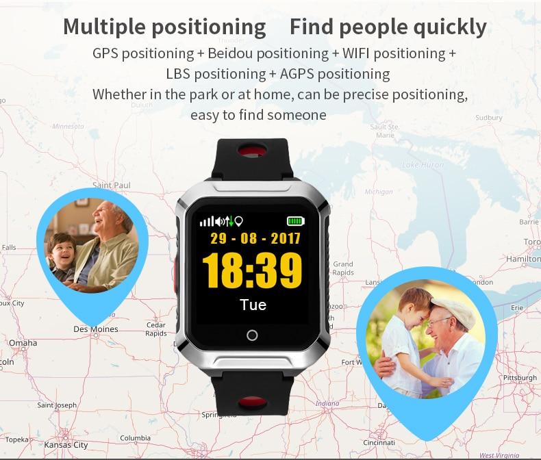 2019 Nova A20S GPS Criança Assistir Dispositivo