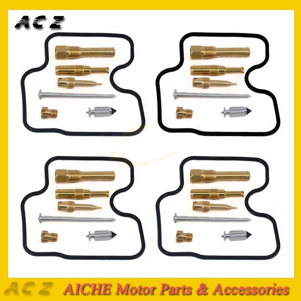 hight resolution of detail feedback questions about acz motorcycle parts 4 sets carburetor repair jet carburetors repair kit for honda cbr250 cbr 250 nc22 cbr400 cbr 400 nc29