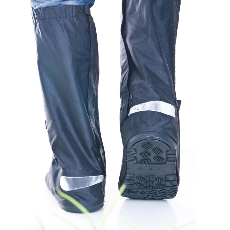 wholesale reusable Waterproof Non-slip Motorcycle Cycling Rain Boot rain Shoe Covers wear shoes for men