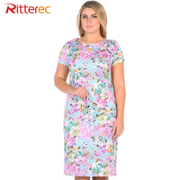 Summer Dress 2017 Plus Size Dresses For Women 4xl 5xl 6xl Casual Bodycon Cotton Big Size
