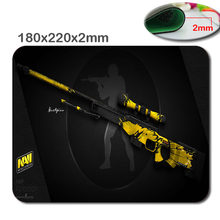 Mairuige New Arrival DIY CS GO Design Mousepad Rubber Computer Mice Mat Large Game Mouse Pad Decorate your desk as a(China)
