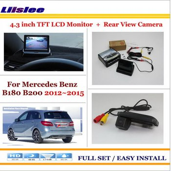 """Liislee For Mercedes Benz B180 B200 / Car Rearview Camera + 4.3"""" LCD Screen Monitor = 2 in 1 Parking Assistance System"""