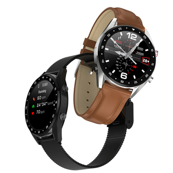 "696 L7 BTcall SmartWatch אק""ג ספורט שעון אק""ג + PPG אק""ג HRV דו""ח קצב לב לחץ דם מבחן IP67 עמיד למים חכם PK N58-בשעונים חכמים מתוך מוצרי אלקטרוניקה לצרכנים באתר"