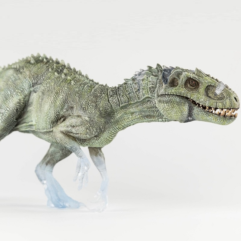 Nanmu Indominus Rex dinozaur zabawki Nightwalker Berserker Rex + mały człowieka rysunek klasyczne zabawki dla chłopców model zwierzęcia ruchoma szczęka w Figurki i postaci od Zabawki i hobby na  Grupa 1