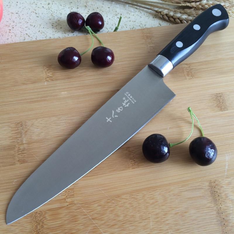 Facas de Cozinha de Aço Inoxidável de alta Qualidade Faca Do Cozinheiro Chefe de Carne De Aço Inoxidável Faca de Cozinha Faca de Cozinha vegetal cuchillos de cocina