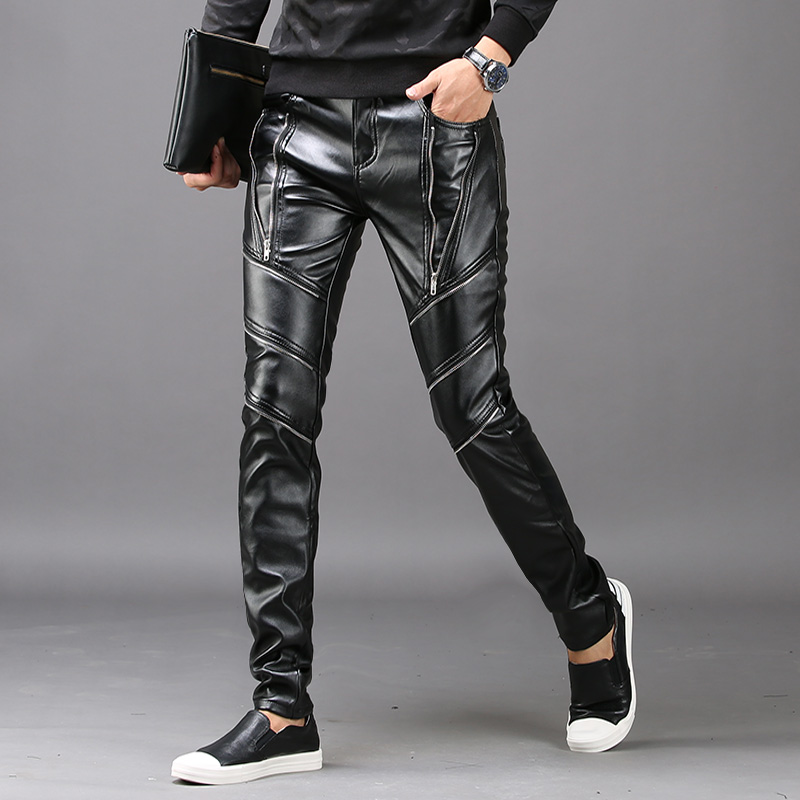Spring Trends Men's Leather Pants
