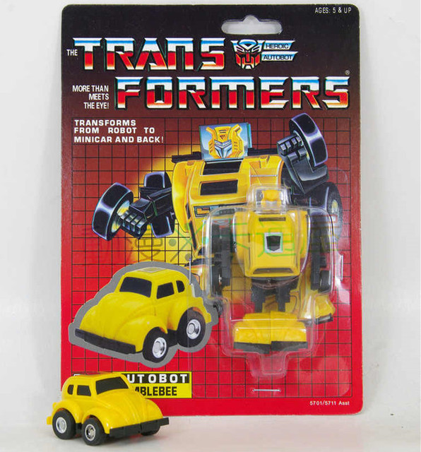 Transformation Robot Model Action Figure Tf G1 Autobot Mini Vehicle Warrior Blebee Reissue Brand New Misb Price
