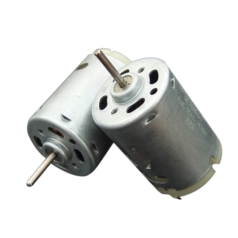 1PCS/2PCS/5PCS/10PCS R385 Micro Motor 6500 RPM Micro Toy Mini Motor Net weight 60g For Boat Small DC Motor Science Experiments