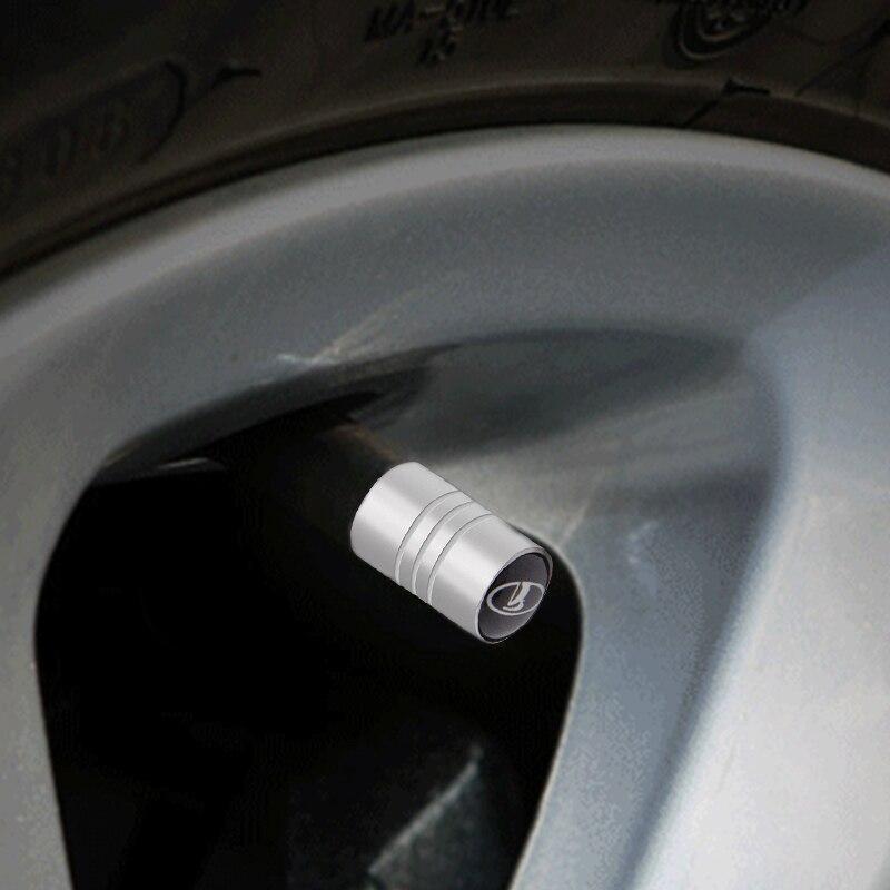 Автомобильный Стайлинг 4 шт. чехол автомобильный стикер для lada niva kalina priora granta largus ВАЗ samara 2110 авто мотоцикл колеса Accessoriesr