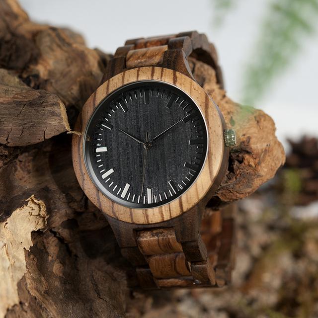 Zabra Wooden Timepieces Quartz Watche