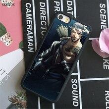 Overwatch Hanzo iphone case X 4 4s 5 5s 6 6s 7 8 6 plus 6s plus 7 8 plus