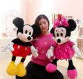 70cm High Quality cute Mickey plush toy or Minnie doll lovers dolls for birthday christmas present gift 1pcs