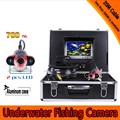 Fish Shape Underwater Fishing Camera Kit with 20Meters Depth Cable & 7Inch TFT LCD Monitor & Hard Plastics Case