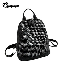 CGMANA Anti Theft Backpack 2018 New High Quality Leather Backpacks Women Mochila Sac A Dos Bolsa Feminina Soft