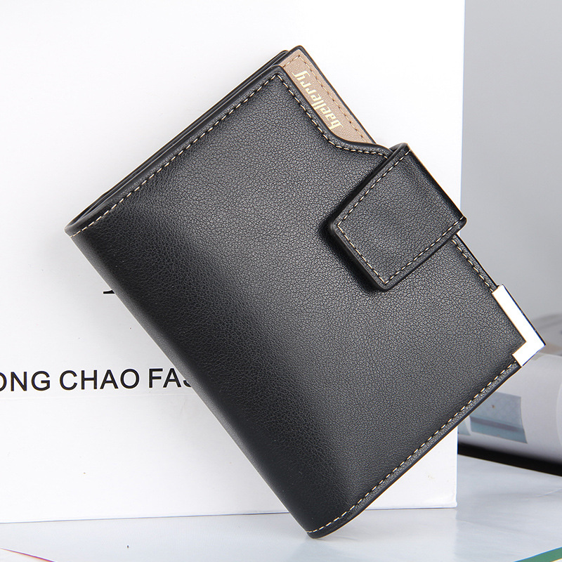 Men Wallets Leather Brand Short Wallet Male Baellerry New Fashion Purse Card Holder Wallet Fashion Man Zipper Wallets Coin Bag