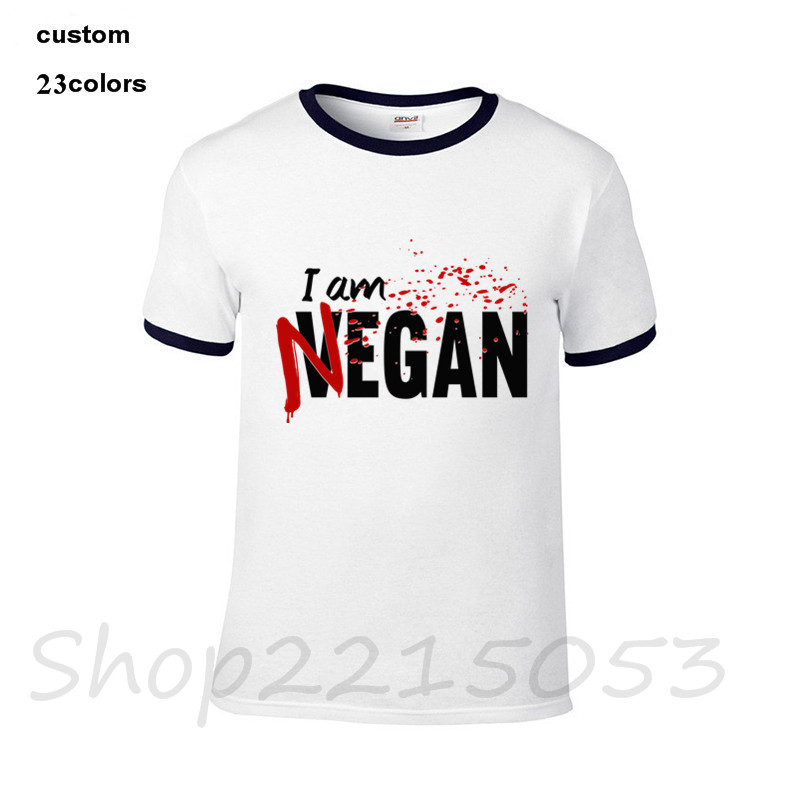 a7366144 Купить Топы и блузки | I'm Negan T Shirt Male New Arrival Simple ...