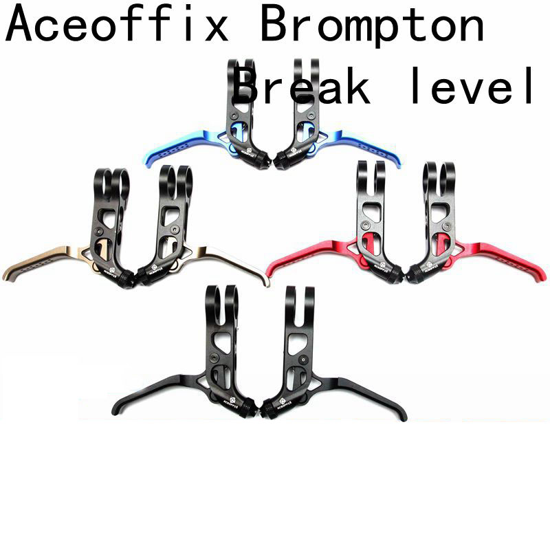 4 Colors Aceoffix for Brompton bike Brake Level