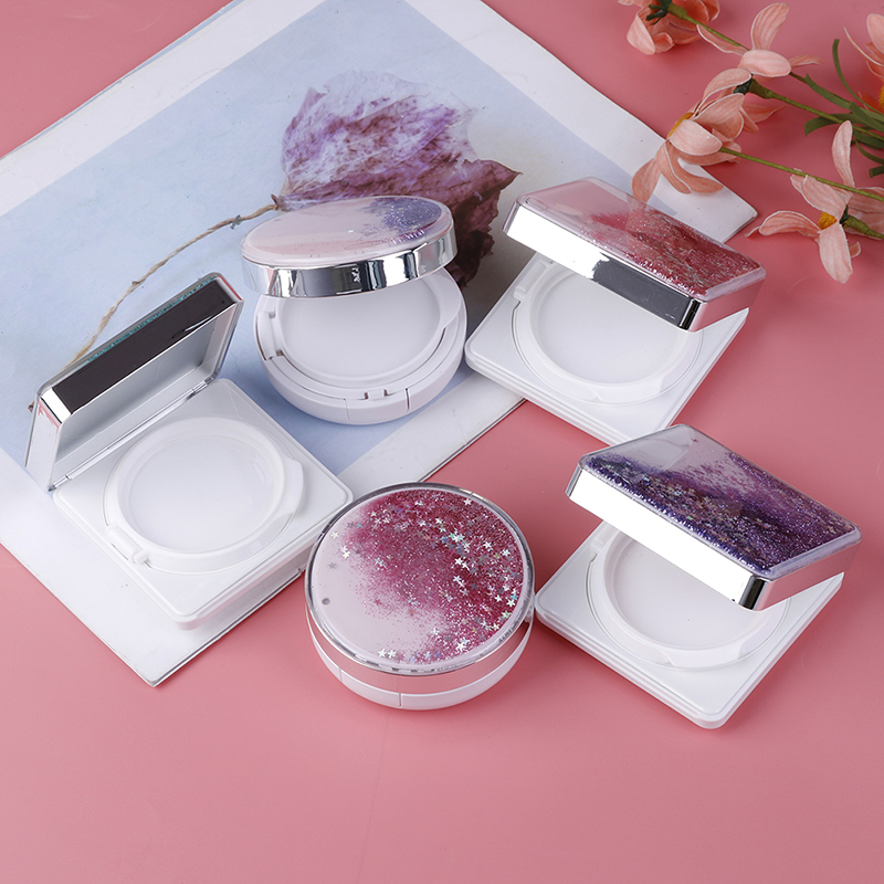 1PC DIY Empty BB Cream Container Air Cushion Puff Box Liquid Foundation BB Cream Holder Beauty Make Up Case