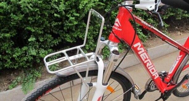Letzte Begrenzte Lager Aluminium Bike Vorne Fracht Super Gewicht Lager Rack für Fahrrad Taschen Packtaschen