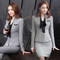 Women wear  fashion suit female temperament fall and winter long-sleeved dress