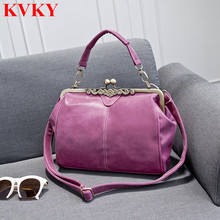 2016 Vintage Womens Autumn Winter Fashion Messenger Bags Small Shoulder Crossbody Clutch Bag for Women Nubuck Leather Handbags