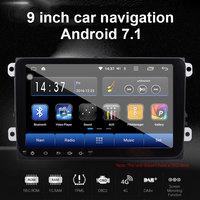 Car Navigator GPS Navigator Multifunctional Vehicle Navigation Sensors Digital 16GB FM Transmit Portable 9 Inches for VW