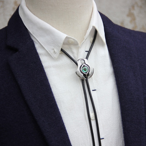 Image 3 - Original designer bolotie stainless steel resin eye  bolo tie for men personality neck tie fashion accessory