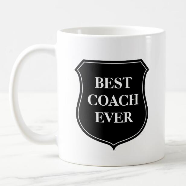Chic Best Coach Ever Coffee Mug Funny Saying Beer Mugs