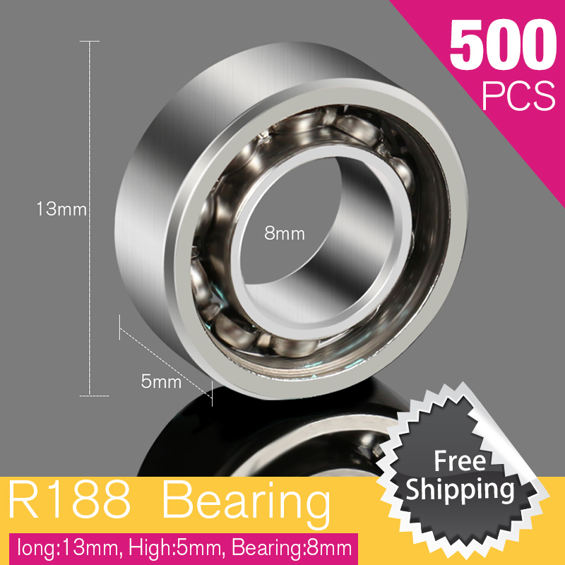 500pcs Spinnerr R88 Bearing For Stress Carki Spiner Fidget Bearings ADHD Adults Children Educational Funny Fingertip Gyro r 88
