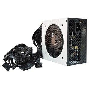 Image 2 - 700W Nguồn PC 700W ATX Điện Máy Tính Để Bàn Chơi Game PSU Active PFC Quạt 120 Mm 90 264V 92% Hiệu Quả EU Anh Mỹ