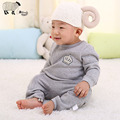 100% Cotton Newborn Baby Boys Long Sleeve Rompers Clothes High Quality Winter Toddler Boy Girl Warm One Pieces Jumpsuit Costume