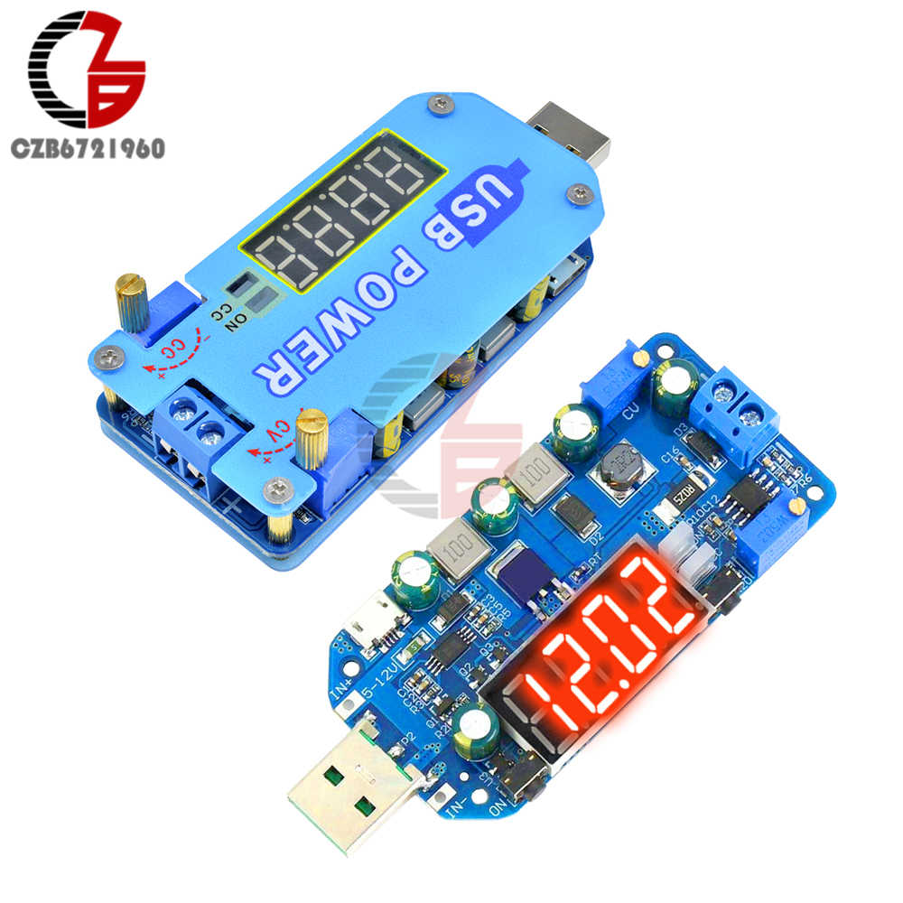 15W 2A DC-DC Usb Verstelbare Voeding Voltage Regulator 5V Naar 3.3V 12V 24V 30 cc Cv Step Up Down Buck Boost Converter Adapter