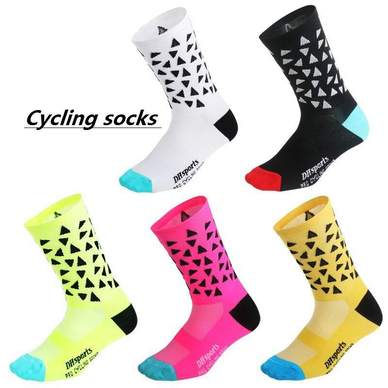 Sonnig Calcetines Ciclismo Laufen Radfahren Socken Männer Frauen Hombre Skateboard Fußball Leggings Basketball Sport Meias Pilates Fußball