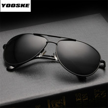 YOOSKE Brand Polarized Sunglasses Men Women Driving Driver S