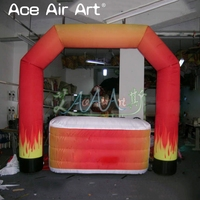Best selling inflatable Arch bar,kiosk bar with desk bar counter for Reception and promotion