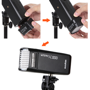 Image 4 - Godox AD L LED Light Head Dedicated for AD200 Portable Outdoor Pocket Flash Accessories 60PCS LED Lamp