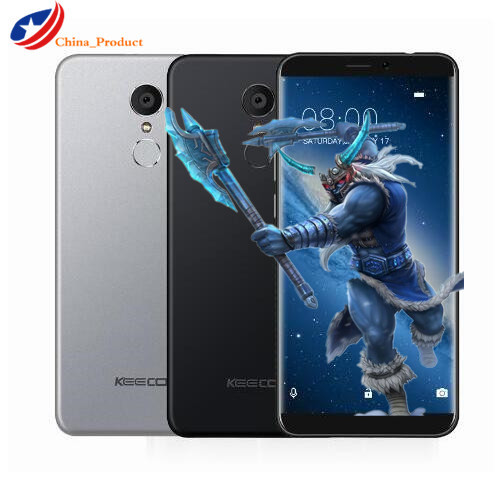 "KEECOO P11 4G LTE Android 7.0 18:9 5.7""HD Smartphone 2GB RAM 16GB ROM Quad Core 8MP Face ID Fingerprint ID Mobile Cell phones"